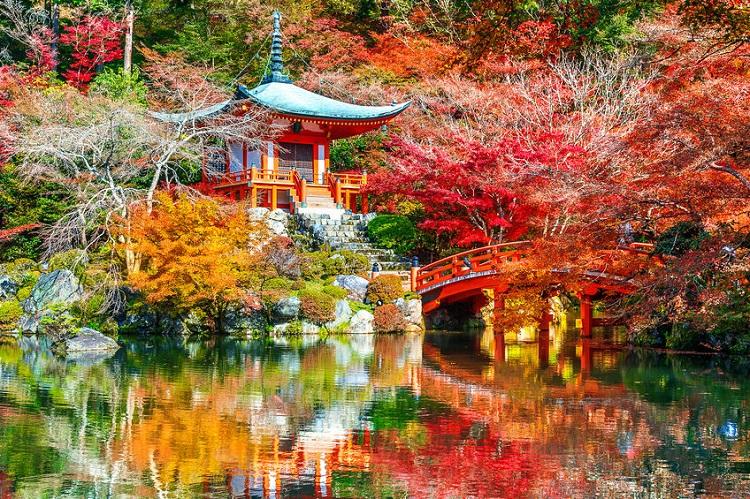 Daigogi temple, Kyoto, Japan